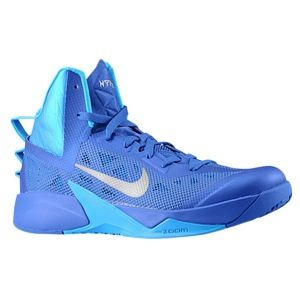 Nike Zoom Hyperfuse 2013   Mens   Basketball   Shoes   Game Royal/Blue Hero