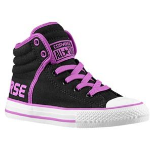 Converse CT Swag Hi   Boys Preschool   Basketball   Shoes   Black/Purple Cactus Flower