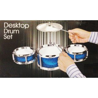 Desktop Drum Set   Assorted Colors: Toys & Games