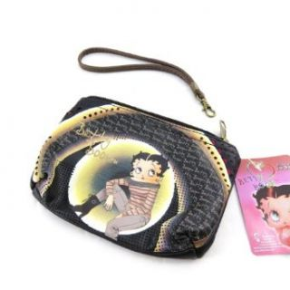 "Wallet ""Betty Boop"" black.: Clothing"