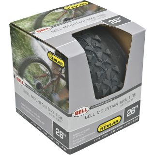 BELL 26 Inch Mountain Bike Tire with Kevlar   Size: 26 Inch