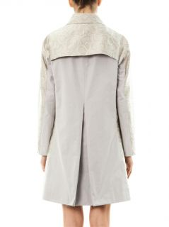 Snake effect jacquard trench coat  Richard Nicoll  MATCHESFA