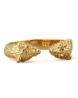 Small Bear Ring, Yellow Gold   Pamela Love   Gold (6)