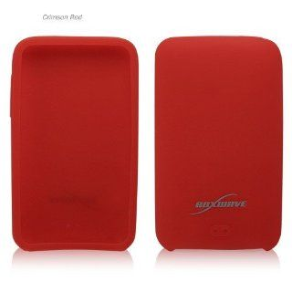 BoxWave iPod touch 3G FlexiSkin   The Soft Low Profile Case (Crimson Red) Computers & Accessories