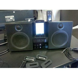 Logitech Pure Fi Elite High Performance Stereo System for iPod (Black)   Players & Accessories