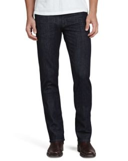 Mens 5011 Straight Leg Jeans, Iona Dark Rinse   Fidelity   Dark blue (33)