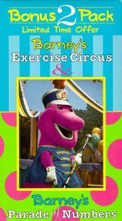 Barney's Exercise Circus & Parade of Numbers [VHS]: Bob West, Julie Johnson, Dean Wendt, David Joyner, Jeff Ayers, Patty Wirtz, John David Bennett, Pia Manalo, Carey Stinson, Lauren King, Emilio Mazur, Michaela Dietz, Dennis DeShazer, Kathy Parker,