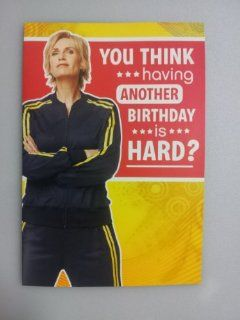 "Musical Birthday Card   You Think Having Another Birthday Is Hard? With Rant From ""Glee"" : Birthday Greeting Cards : Office Products"