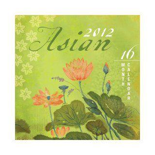 Asian   Evelia 2012 Linen Wall Calendar DateWorks 9781438810720 Books