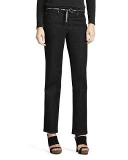Organic Soft Straight Leg Jeans, Womens   Eileen Fisher   Indigo (24W)