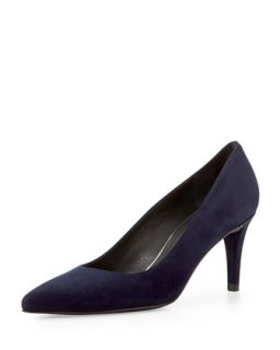 Pinot Suede Pointed Toe Pump, Nice Blue   Stuart Weitzman   Nice blue (42.0B/12.