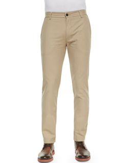 Mens Chino Pants with Rivets, Taupe   J Brand Jeans   Taupe (34)