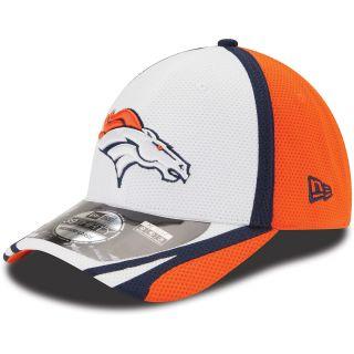 NEW ERA Mens Denver Broncos 2014 Training Camp 39THIRTY Stretch Fit Cap   Size: