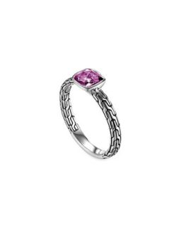 Batu Chain Amethyst Ring, Small   John Hardy   Amethyst (7)