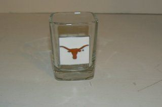 NCAA Texas Longhorns 2 oz Shot Glass with Sculpted Pewter Logo  Sports Fan Shot Glasses  Sports & Outdoors