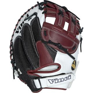 Vinci Womens Fast Pitch Catchers Mitt Model JCV VM 33 inch with Dual Post H