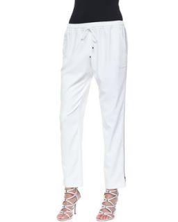 Womens Loren Easy Drawstring Pants, Joey White   T Tahari   Joey white (SMALL)
