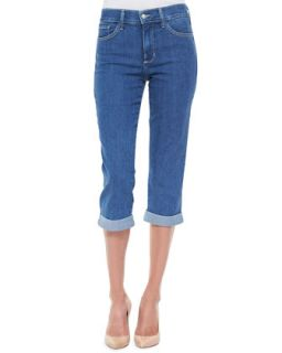 Womens Delaney Cropped Rolled Up Jeans   Not Your Daughters Jeans