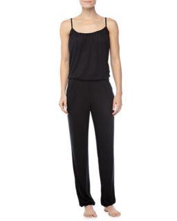Womens Pilar Jersey Jumpsuit   Hanro   Black (X SMALL)