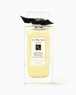 Lime Basil & Mandarin Bath Oil, 0.9 oz.   Jo Malone London   Orange