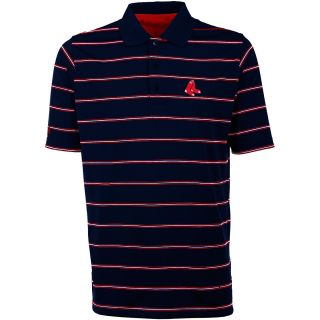 Antigua Boston Red Sox Mens Deluxe Short Sleeve Polo   Size: Large, Navy/dark