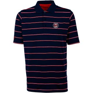 Antigua Minnesota Twins Mens Deluxe Short Sleeve Polo   Size: Large, Navy/dark