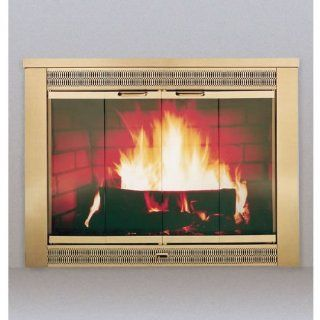 "Thermo Rite Celebrity Clearview Glass Door, Model CE3529, 35 1/2""w X 29""h   Fireplace Screens"