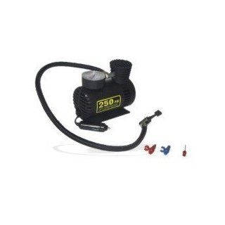 250 PSI 12 Volt Mini Air Compressor   Plugs into Lighter!: Home Improvement