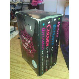 House of Night, Books 1 4 (Marked / Betrayed / Chosen / Untamed) P. C. Cast, Kristin Cast 9780312372132 Books