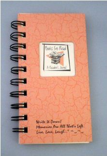 Books I've Read, A Reader's Journal   MINI Coral Hard Cover (prompts on every page, recycled paper, read more): Office Products