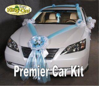 Premier Just Married Wedding Car Decorating Kit