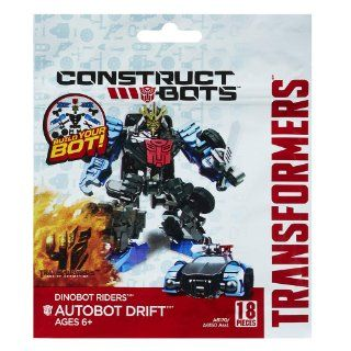 Transformers Age of Extinction Construct Bots Dinobot Riders Autobot Drift Buildable Action Figure: Toys & Games