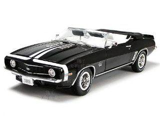 Phoenix Unique Replicas   Chevy Camaro SS396 Convertible (1969, 1:24, Black): Toys & Games