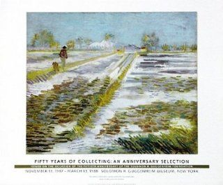 Landscape with Snow Poster Print by Vincent Van Gogh (30 x 25)   Prints