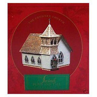 Sarah, Plain And Tall Collection Country Church Scene (Hallmark)   Home Decor Products