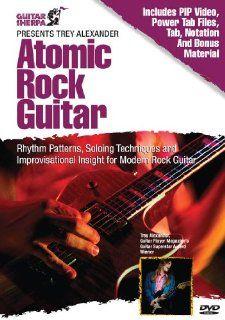 Guitar Sherpa Trey Alexander   Atomic Rock Guitar   DVD Musical Instruments