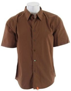 Planet Earth Raven S/S Shirt Nutella Browns Sz L at  Men�s Clothing store