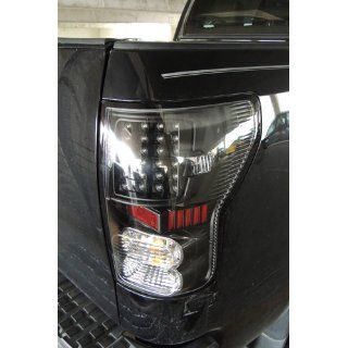 Spyder Auto ALT ON TTU07 LED BK Toyota Tundra Black LED Tail Light: Automotive