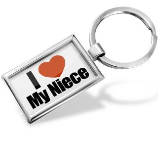 "Keychain ""I Love My Niece""   Hand Made, Key chain ring Automotive"