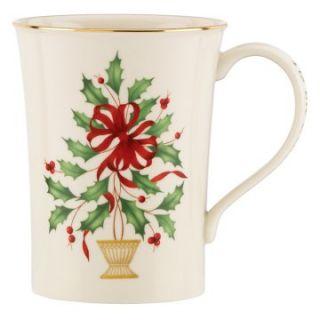 Lenox Holiday Tis the Season Mug   Set of 2   Coffee Mugs