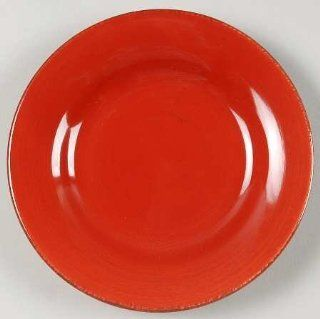 Tag Ltd Sonoma Red Appetizer Plate, Fine China Dinnerware: Kitchen & Dining