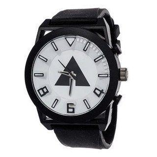 Airwalk Men's White/ Black Analog Watch Steko LTD Watches