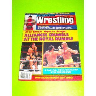 Jerry Lawler, Hulk Hogan, Macho Man Randy Savage (Sports Review Wrestling Magazine   May 1989) Sports Review Wrestling Books