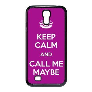 Keep Calm And Call Me Maybe Samsung Galaxy S4 I9500 Personalized Hard Plastic Case Cover Computers & Accessories
