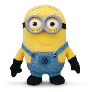 Despicable Me Buddies Soft Huggable Friends Minion Dave Plush: Toys & Games
