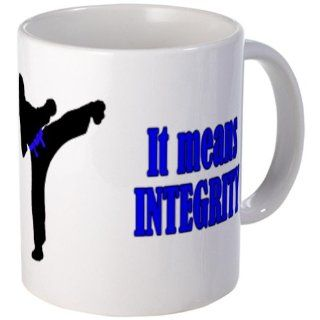 CafePress It Means Integrity, female kicker, Mug   Standard: Kitchen & Dining