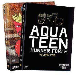 Aqua Teen Hunger Force   Vol. 1 & Vol. 2: Dave Willis, Carey Means, Dana Snyder, C. Martin Croker, Matt Maiellaro, Schooly D, Andy Merrill, Mike Schatz, George Lowe, Edward Hastings, Chris Ward, Nick Ingkatanuwat: Movies & TV