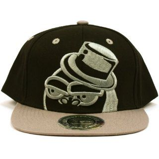 Men's Cool Gorilla 2 Tone Snapback Adjustable Baseball Ball Cap Hat Black Gray  Sports Fan Baseball Caps  Sports & Outdoors
