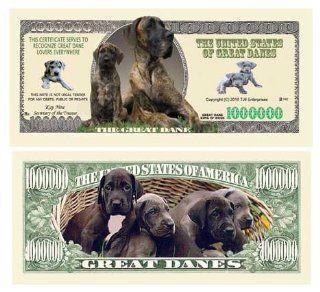 GREAT DANE DOG MILLION DOLLAR BILL (w/Protector): Everything Else