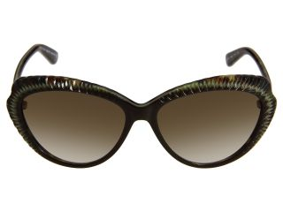 Alexander Mcqueen Amq4197 S Havana Green Brown Grey Gradient